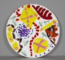 Garden Plate by Patrick Heron