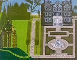 The Queens Garden. by Edward Bawden