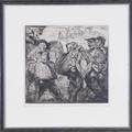 Dutch Peasants by Sir Frank Brangwyn