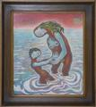 Mother Love in Water by Morris Cox