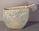 Stoneware pouring vessel by Paul Philp