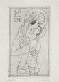 Madonna and Child by Eric Gill