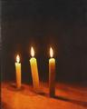 Candlelight by Ray  Povey