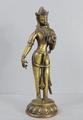 Old Nepalese bronze <br/> standing figure