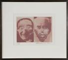 Two Heads by Sir Eduardo Paolozzi