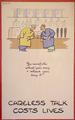 Original wartime poster.  c.1940                                         by Fougasse (Cyril Kenneth Bird)
